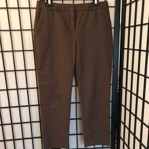 Charter Club Brown Woman's Ankle Length Pants